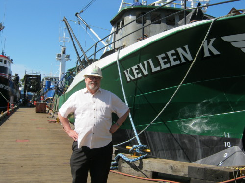 F/V Kevleen K - With a new good looking house! Doug Dixon, Pacific Fishermen Shipyard