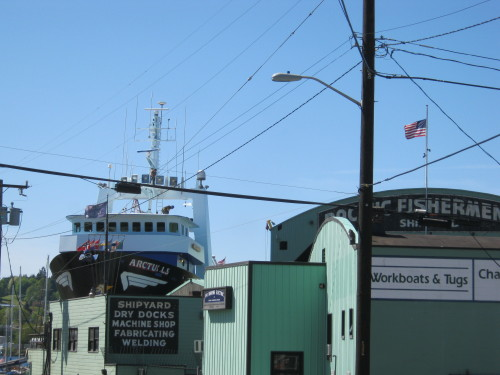 Pacific Fishermen Shipyard, Seattle WA - NW Spring