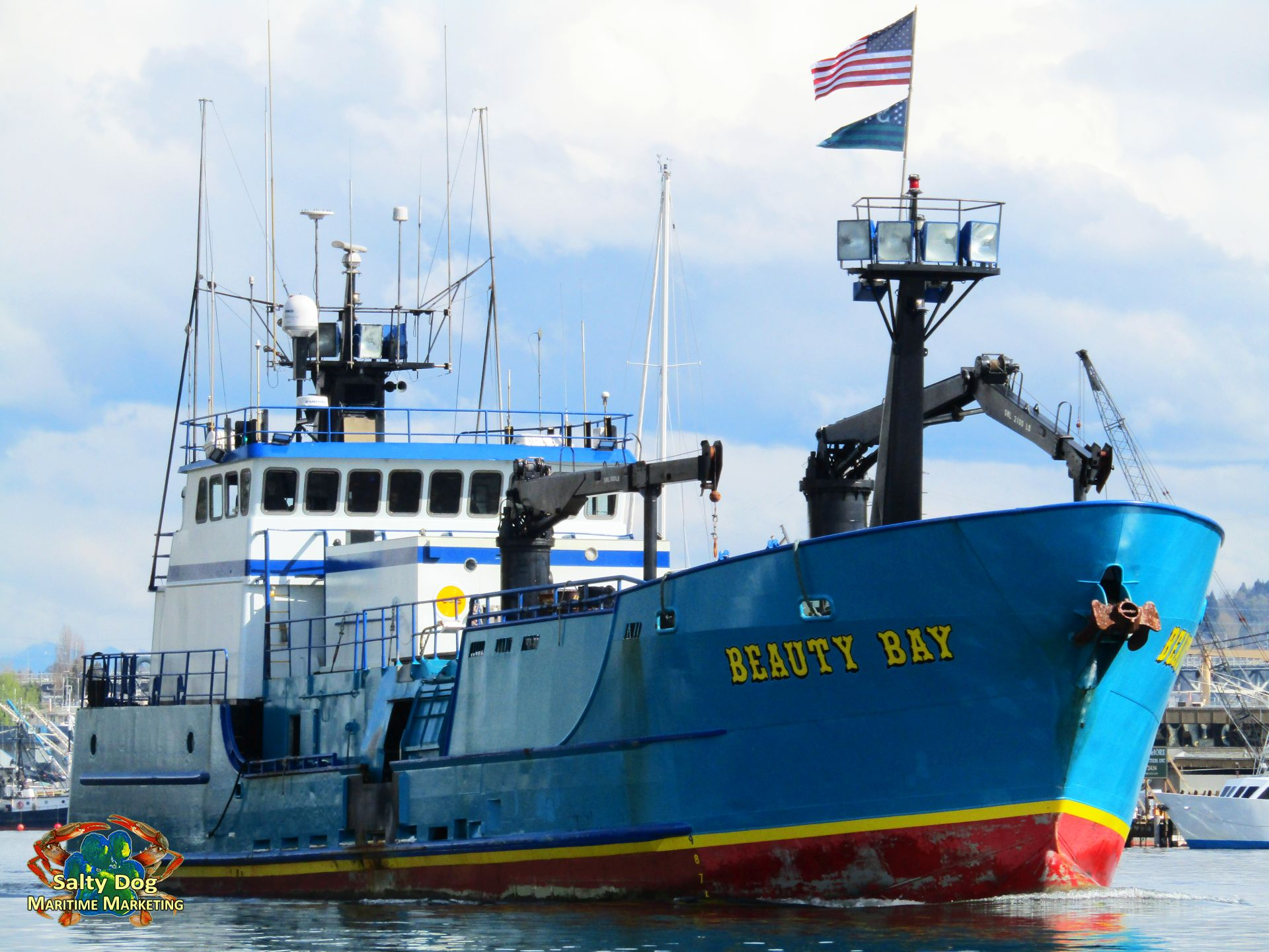 AK Commercial Fishing Boats, AK Crabbers, Gillnetters, Seiners, Draggers