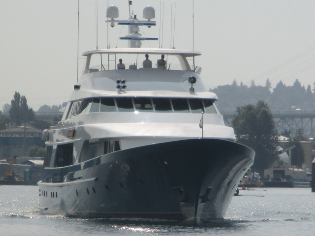 Marlinda, Delta Marine Boat Build, Seattle Superyacht Hope Port on Lake Union - NW Mega Yacht
