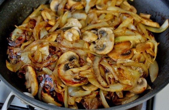 2A - Sauteed Mushrooms and Onions