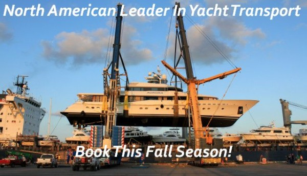PNW Yacht Transport, United Yacht Transport, North American Shipping Leader