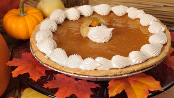 Pumpkin Pie, NW Recipe, Salty Dog Boaters, Serves 8 at Land & Sea this Holiday Season