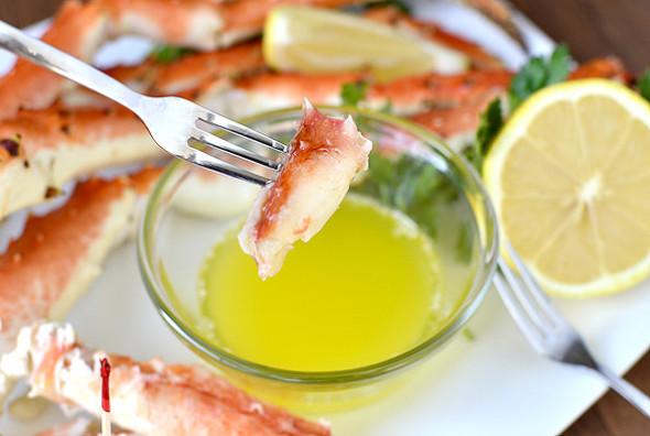 Alaskan Crab Legs, AK Bering Sea Crabbers, Winter Dinners