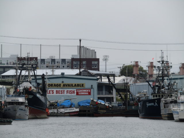 Breanna A. Deadliest Catch, last season 12 New Crabber on Set, Dwyer Family Boats, Sister Boat Jennifer A. Both Bering Sea Crabbers End of Summer Seattle Ship Canal....