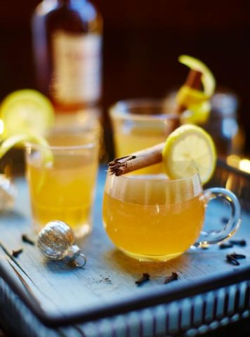 Hot Toddy, Dewar's White Label Whiskey, Salty Dog Boaters Holiday Cruising Recipe For Guests on Board PNW