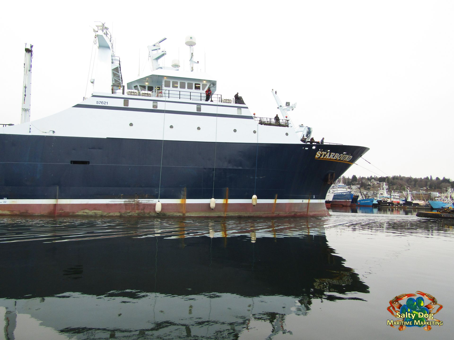 C/P Starbound 240 ft. Tug Wasp Western Towboat, Alaska ...