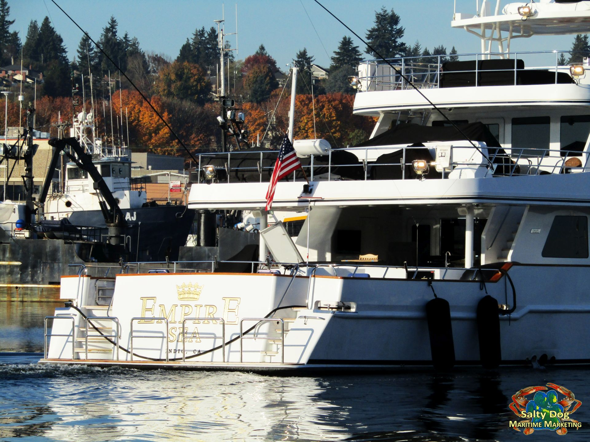 empire sea, motor yacht, seattle superyachts pacific northwest mega