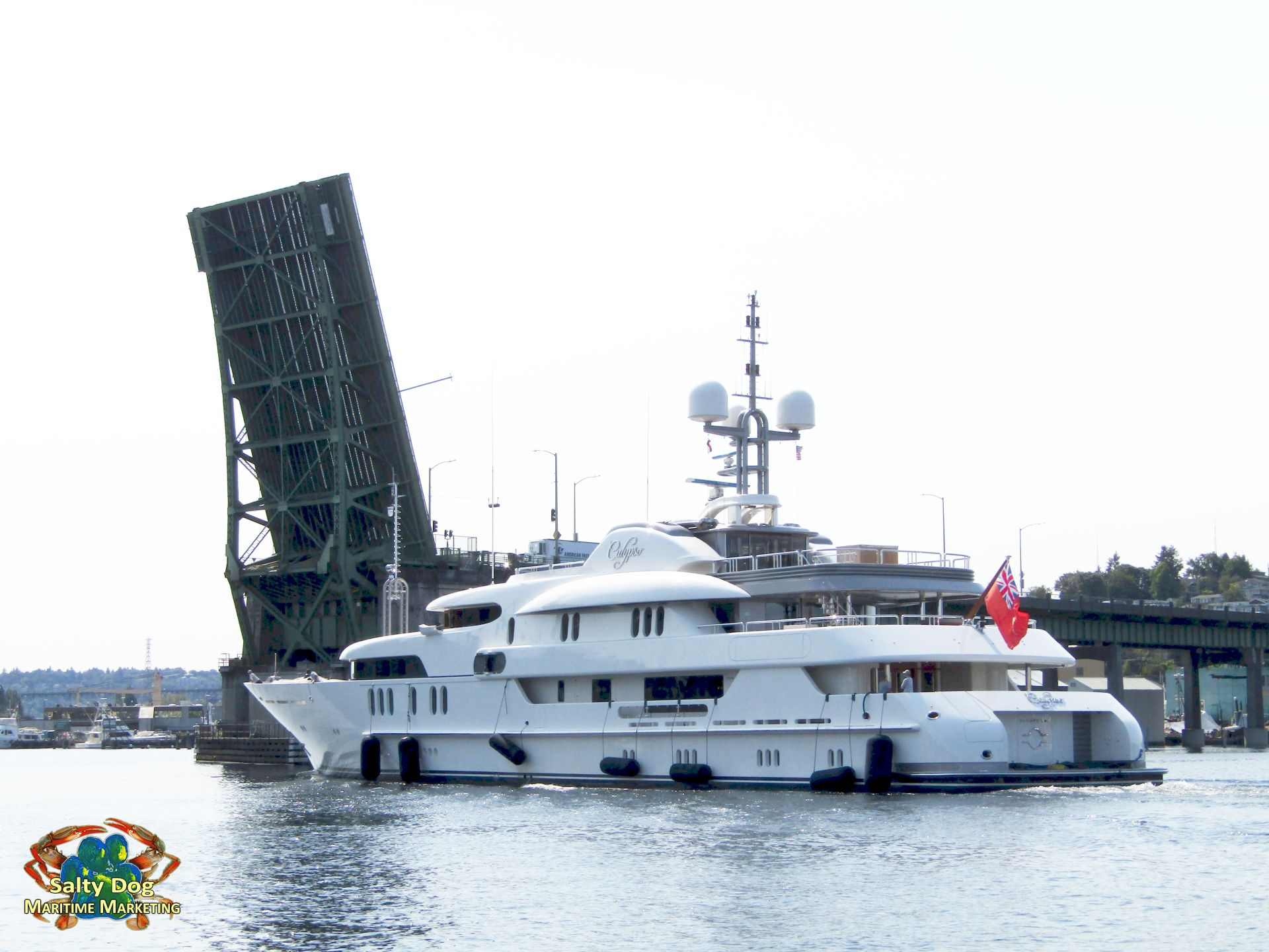 calypso, 61m seattle lake union, superyacht custom motor yacht pnw